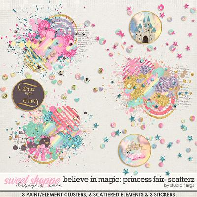Believe in Magic: Princess Fair SCATTERZ by Studio Flergs
