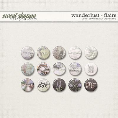Wanderlust Flairs by On A Whimsical Adventure