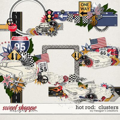 Hot Rod: Clusters by Meagan's Creations