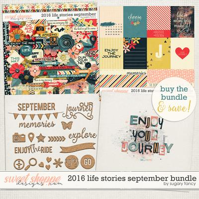 2016 Life Stories - September Bundle by Sugary Fancy