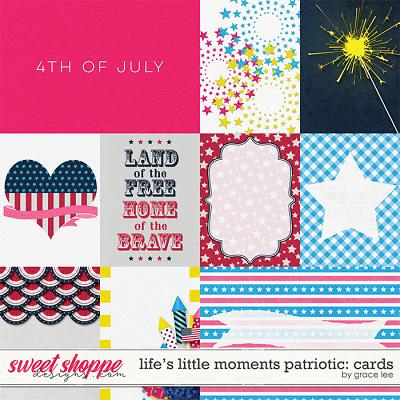 Life's Little Moments Patriotic: Cards by Grace Lee