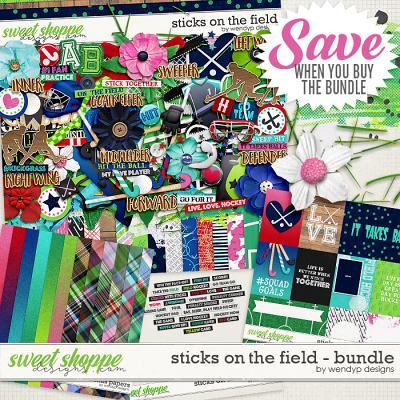 Sticks on the field - Bundle by WendyP Designs