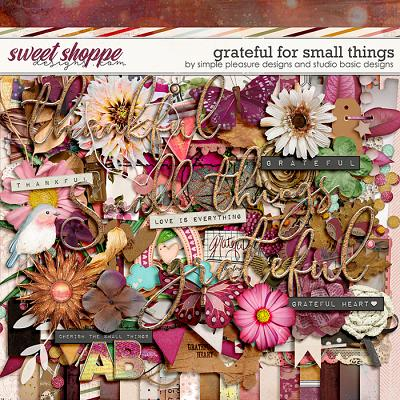 Grateful For Small Things Kit by Simple Pleasure Designs and Studio Basic