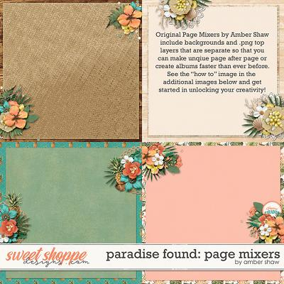 Paradise Found: Page Mixers by Amber Shaw