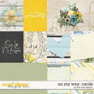 On My Way: Cards by River Rose Designs