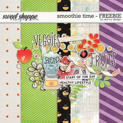 Smoothie Time - *FREEBIE* by Red Ivy Design