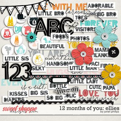 12 MONTHS OF YOU: ELLIES by Janet Phillips
