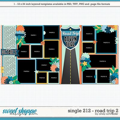 Cindy's Layered Templates - Single 212: Road Trip 2 by Cindy Schneider