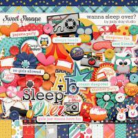 Wanna Sleep Over by Jady Day Studio