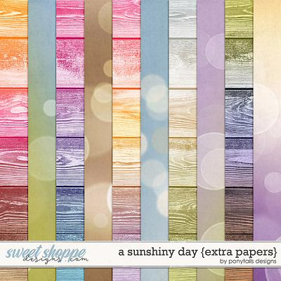 A Sunshiny Day Extra Papers by Ponytails