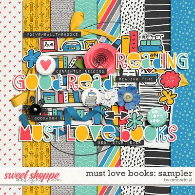 Must Love Books: Sampler by Amanda Yi