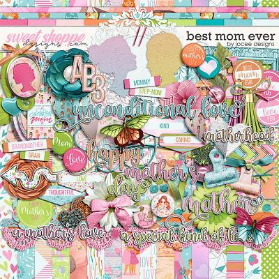 Best Mom Ever by JoCee Designs