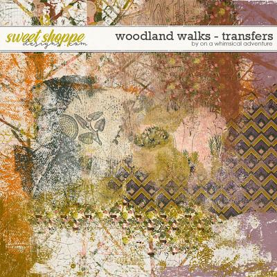 Woodland Walks Transfers by On A Whimsical Adventure