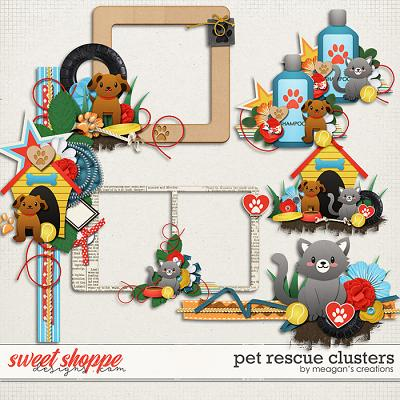 Pet Rescue Clusters by Meagan's Creations