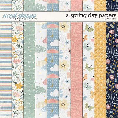 A Spring Day Papers by LJS Designs