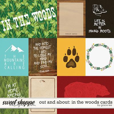 Out and About: In the Woods Cards by Grace Lee