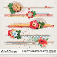 Poppy Sunshine: Strip Stacks by Amber Shaw