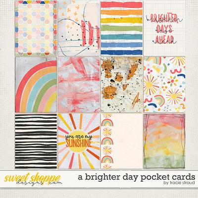 A Brighter Day Pocket Cards by Tracie Stroud