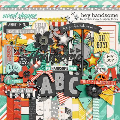 Hey Handsome by Amber Shaw & Sugary Fancy