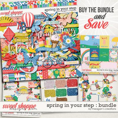 Spring in Your Step: Bundle by Meagan's Creations