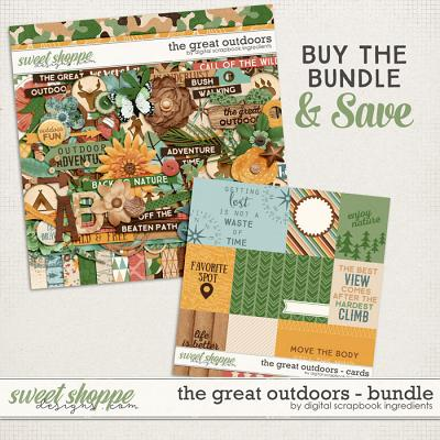 The Great Outdoors Bundle by Digital Scrapbook Ingredients