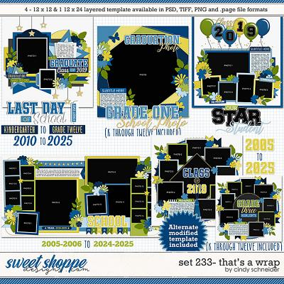 Cindy's Layered Templates - Set 233: That's a Wrap by Cindy Schneider