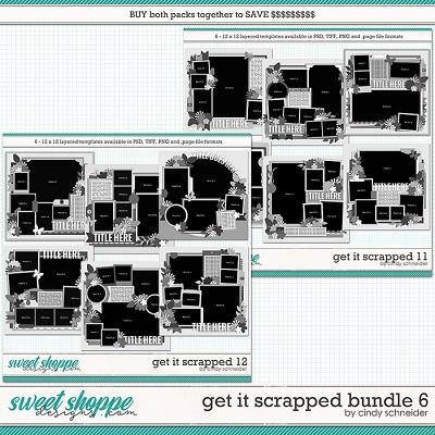 Cindy's Layered Templates - Get It Scrapped Bundle 6 by Cindy Schneider