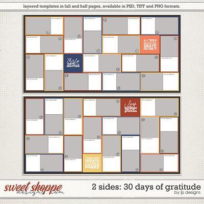 2 Sides: 30 Days of Gratitude by LJS Designs