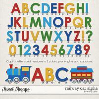 Railway Car Alpha by Misty Cato