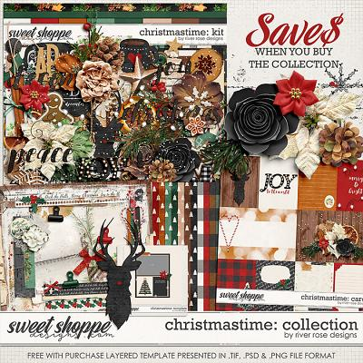 Christmastime: Collection + FWP by River Rose Designs