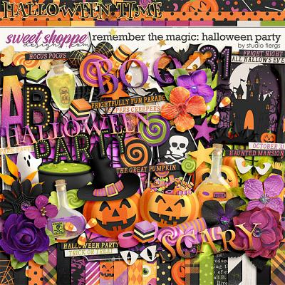 Remember the Magic: HALLOWEEN PARTY by Studio Flergs