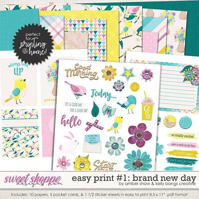 Brand New Day: Easy Print 1 by Amber Shaw & Kelly Bangs Creative