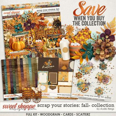 Scrap Your Stories: Fall- BUNDLE by Studio Flergs & Kristin Cronin-Barrow