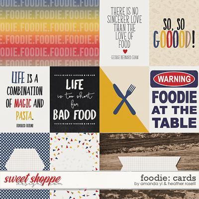 Foodie: Cards by Amanda Yi & Heather Roselli