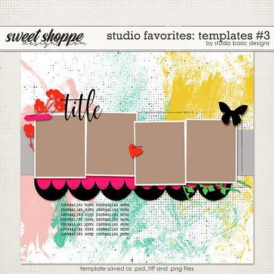 Studio Favorites: Templates #3 by Studio Basic