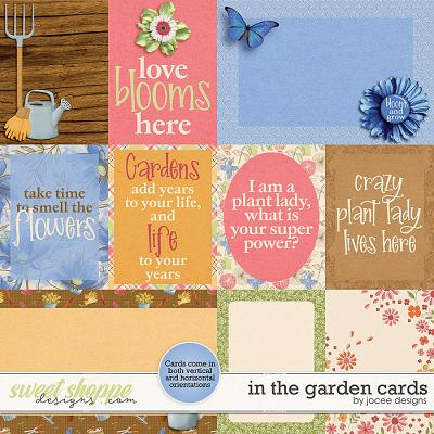 In the Garden Cards by JoCee Designs