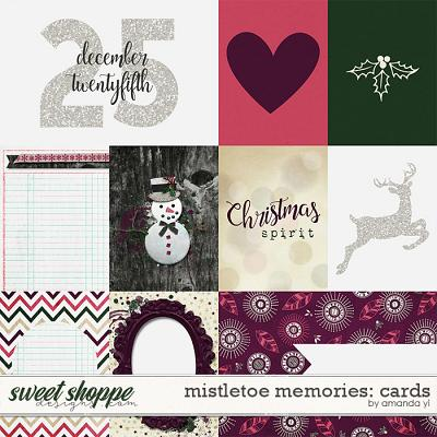 Mistletoe Memories: Cards by Amanda Yi