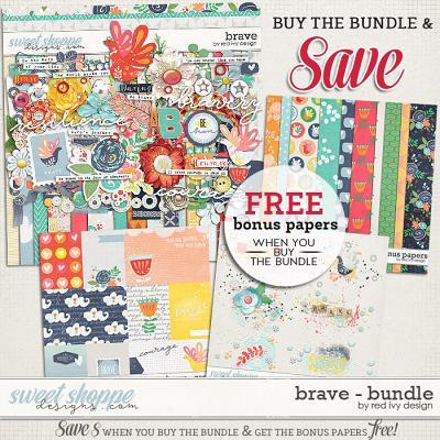 Brave - Bundle by Red Ivy Design
