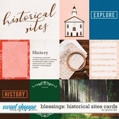 Blessings: Historical Sites Cards by Grace Lee