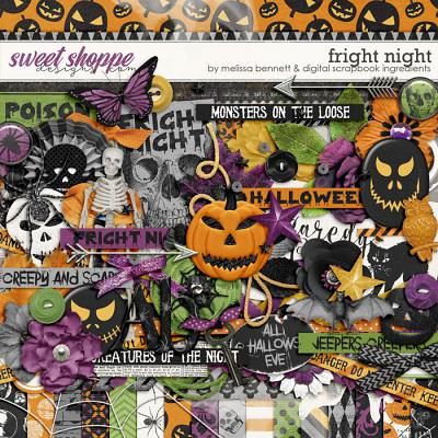 Fright Night by Melissa Bennett & Digital Scrapbook Ingredients