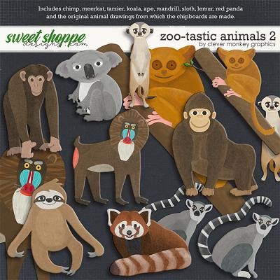 Zoo-tastic Animals 2 by Clever Monkey Graphics