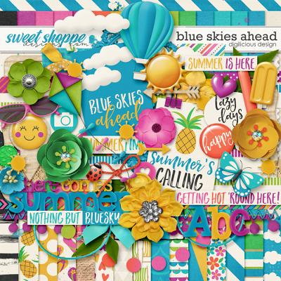 Blue Skies Ahead {Kit} by Digilicious Design