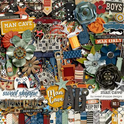 *FREE with your $30 Purchase* Man Cave by Sweet Shoppe Designs