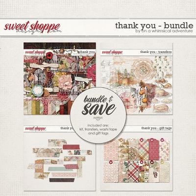 Thank You Bundle by On A Whimsical Adventure