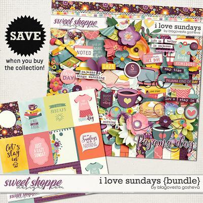I Love Sundays {bundle} by Blagovesta Gosheva