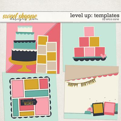 Level Up Templates by Erica Zane