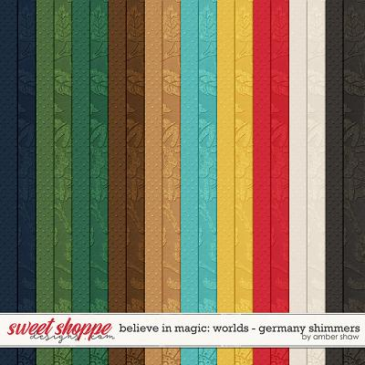 Believe in Magic:  Worlds - Germany Shimmers by Amber Shaw