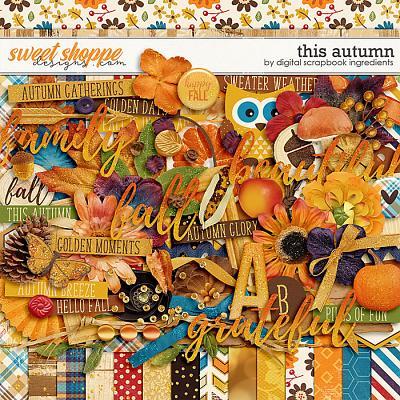 This Autumn by Digital Scrapbook Ingredients