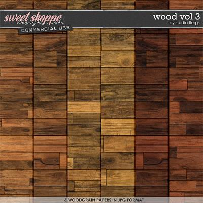 Wood VOL 3 by Studio Flergs