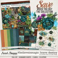 #believeinmagic:  Brave Destiny Collection by Amber Shaw & Studio Flergs